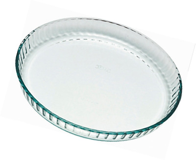 Pyrex Quiche Flan Dish, 24cm Baking Cooking Ovenproof Microwave Dishwasher Safe