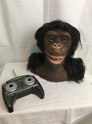 The Sharper Image Chimpanzee WW258 with Remote and Instruction manual