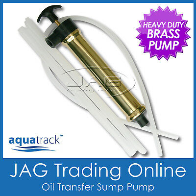 AQUATRACK BRASS OIL TRANSFER SUMP PUMP - Boat Engine Gear Box Inboard/Outboard