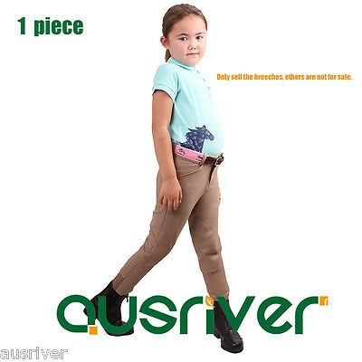 Child Kids Jodhpurs Girls Horse Riding Pants Equestrian Sale Breeches Bottoms