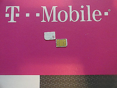 NEW T-MOBILE 4G  4FF NANO SIM Card NEW/EXSITING PREPAID,POST PAY OR REPLACEMENT