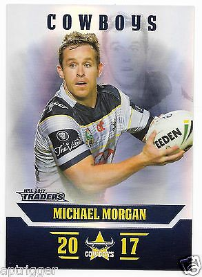 2017 NRL Traders Parallel Special (PS086) Michael MORGAN Cowboys
