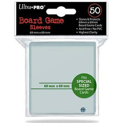 Ultra Pro Special Sized Board Game Card Sleeves 69 X 69mm 50ct Power Grid