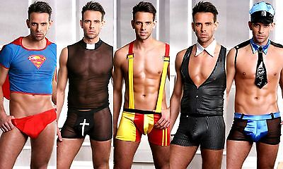 Sexy Striking Men's Stag Do Fancy Dress Party Costume Outfit