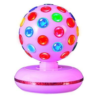 "Rotating 6"" Pink Disco Ball"