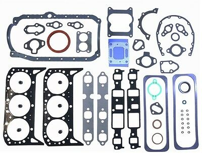 Gm Chevy Mercruiser Marine 262 4.3L Full Complete Gasket Set