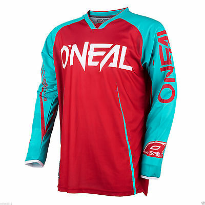 2017 Oneal Element MX Motorbike Jersey Shirt Top Racewear Motorcross Long Sleeve