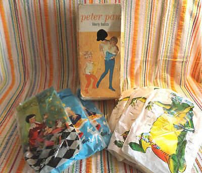 Vintage 1950/60's Peter Pan Liberty Bodice Vests - All in Original Packaging/Box
