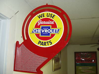 Chevrolet Parts 50S  Nostalgic Advertising Arrow Sign
