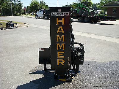Bobcat Skid Steer Attachment - Danuser SM40 Hammer Tilt Weight Kit - Free Ship