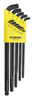 Bondhus #67037 SDBLX13XL 13pc In. L-Wrenches - ProGuard™ Stubby Double Ball End