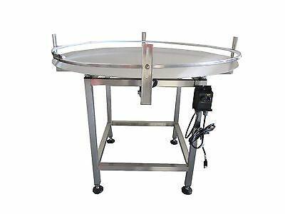 "New Accumulation Rotary Table 48"" Diameter-Stainless Steel-Made In The Usa"