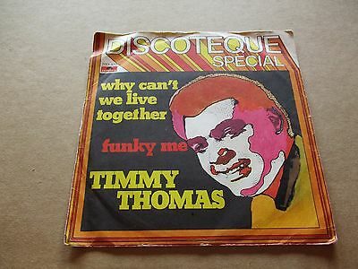 45 giri - Vinile - Timmy Thomas - Why Can't We Live Together