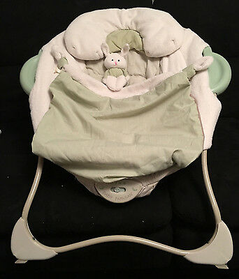 Fisher Price Baby Papasan Vibrations Infant Seat Music Bouncer