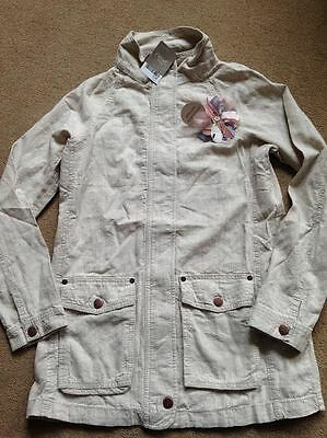 BNWT NEXT Girls Stone Lightweight Jacket Anorak Coat 15 Years RRP £36