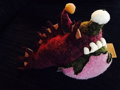 NEW Woolbuddy/Woolbuddies Angus (Angler Fish) Very Rare/Sold Out Jackie Huang