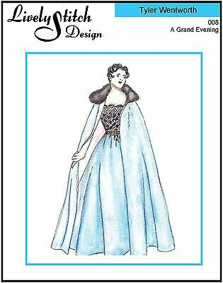 A Grand Evening / sewing pattern for the Tyler Wentworth doll by Tonner