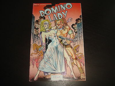 DOMINIO LADY #3 Ron Wilber  Fantagraphics Adult Comix 1991 VF/NM