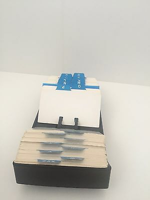 [ROLODEX] VIP Open Tray Card Holder Vintage 1995 NVIP-24 New Vintage see photos