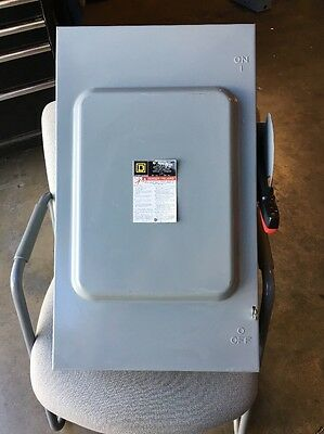 Square D HU364 Non Fuseable 200amp Disconnect New No Box