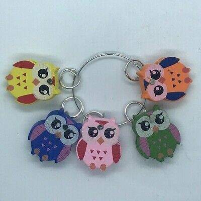 Handmade Knitting Stitch Markers  - Choose Size and Design, Super Cute