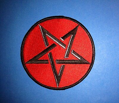 Vintage 1990's Slayer Rock Music Hat Jacket Backpack Hoodie Patch Crest A