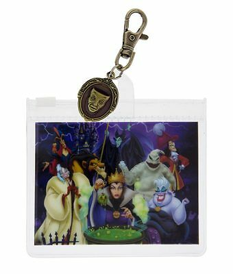 Disney Parks Villains Lanyard Pouch With Charm New With Tag Walt Disney World
