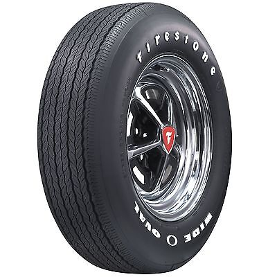 Firestone Wide Oval  Raised White Letter FR70-15 Save on Set of 4