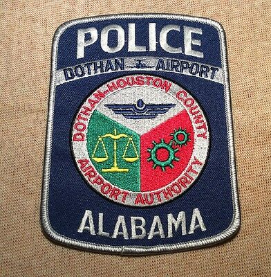 AL Dothan/Houston County Alabama Airport Authority Police Patch