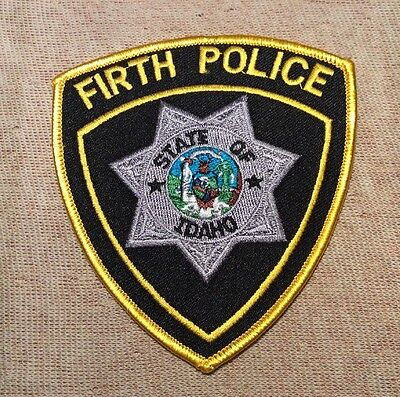 ID Firth Idaho Police Patch