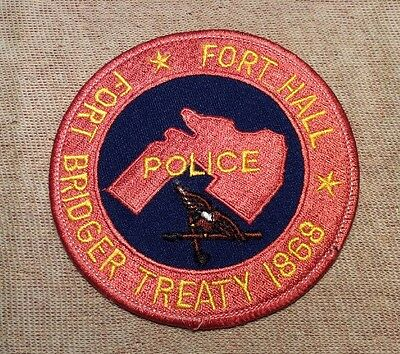 ID Fort Hall Idaho Police Patch
