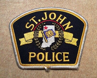 IN St. John Indiana Police Patch