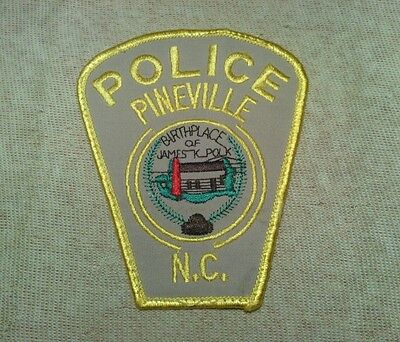 NC Pineville North Carolina Police Patch