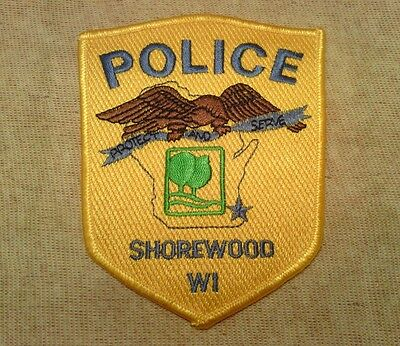WI Shorewood Wisconsin Police Patch