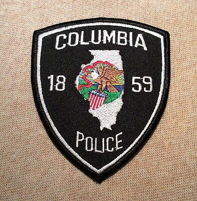 IL Columbia Illinois Police Patch