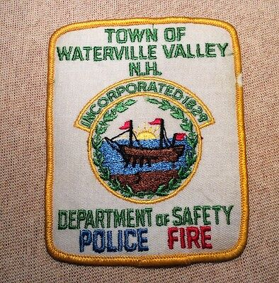 NH Waterville Valley New Hampshire Police Patch