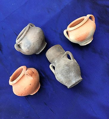 5 Pcs Holyland Pottery Dead Sea Scrolls & Water-Wine Cana Wedding Replicas