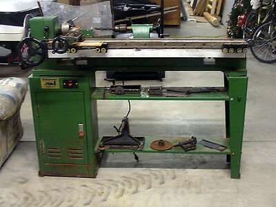 Lobo Wood Lathe With Copying Attachment Accessories