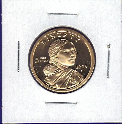 2005-S Deep Cameo Proof Sacagawea / Native American Dollar