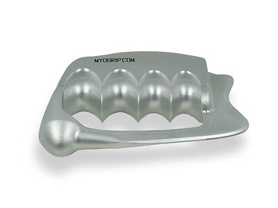 MyoGrip IASTM Tool: Graston Physical Therapy Chiropractic Massage - Matte Grey