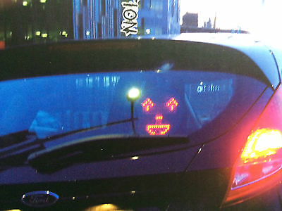 Drivemocion  remote controled  Messages and faces Programmable LED Car sign