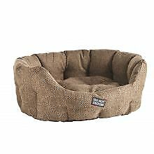 PET-302687 - Do Not Disturb Oval Bed Brown 45cm