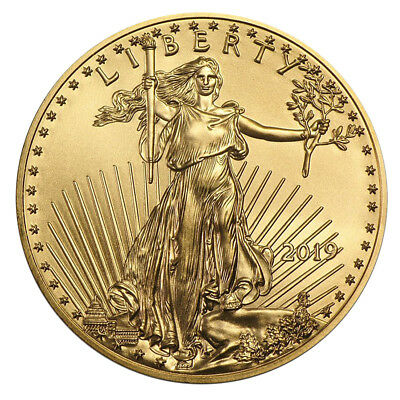 1 oz Gold Eagle 50 Dollar USA 2017 Goldmünze 916,7 Stempelglanz