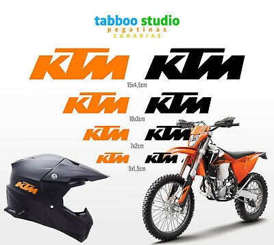 Kit Adesivi KTM Casco Moto Stickers Duke Superduke Adventure Supermotard