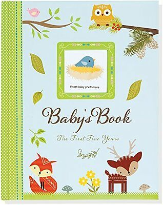 Babys Book: The First Five Years Woodland Friends