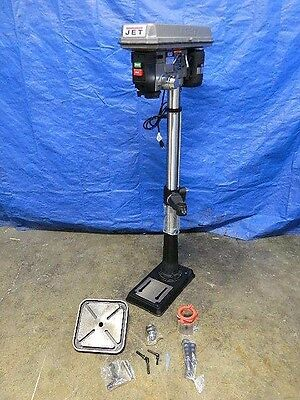"Jet Floor Standing Step Pulley Drill Press 15"" Swing 3/4 HP 115v 1-Phase J-2500"