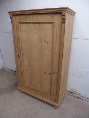 A Fantastic Large 1 Door Cottage Style Kitchen Storage Cupboard to Wax/Paint