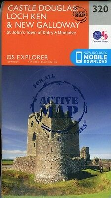 Castle Douglas, Loch Ken and New Galloway 1 : 2...-NEW-9780319471920 by Ordnance