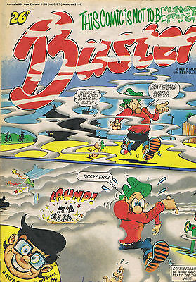 Buster Comic 9Th February 1988