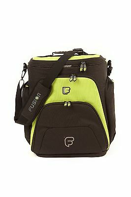 "Fusion F1 Mega Workstation Lime  - 17"" Laptop Backpack DJ Shoulder Bag Sleeve"